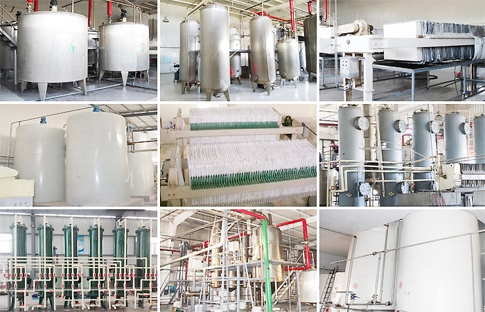 high fructose syrup production machinery