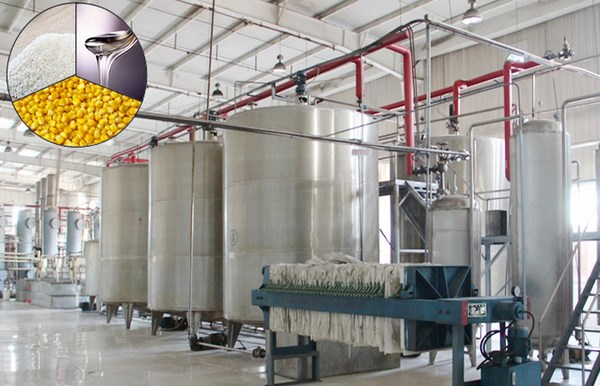 Using-raw-grains-corn-rice-to-produce-liquid-corn-syrup-production-equipment
