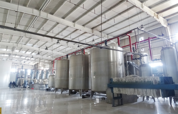Evaporator-during-syrup-plant,syrup-processing-machine